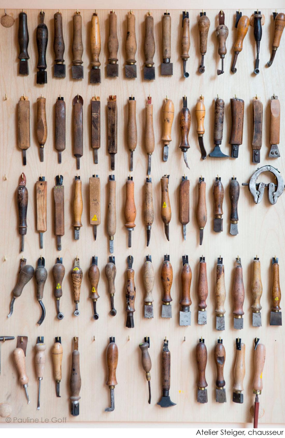 Atelier Steiger © Pauline Le Goff