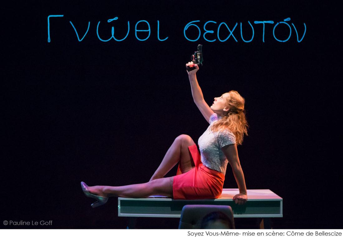 Soyez Vous Même - Théâtre du Fracas - Côme de Bellescize © Pauline Le Goff