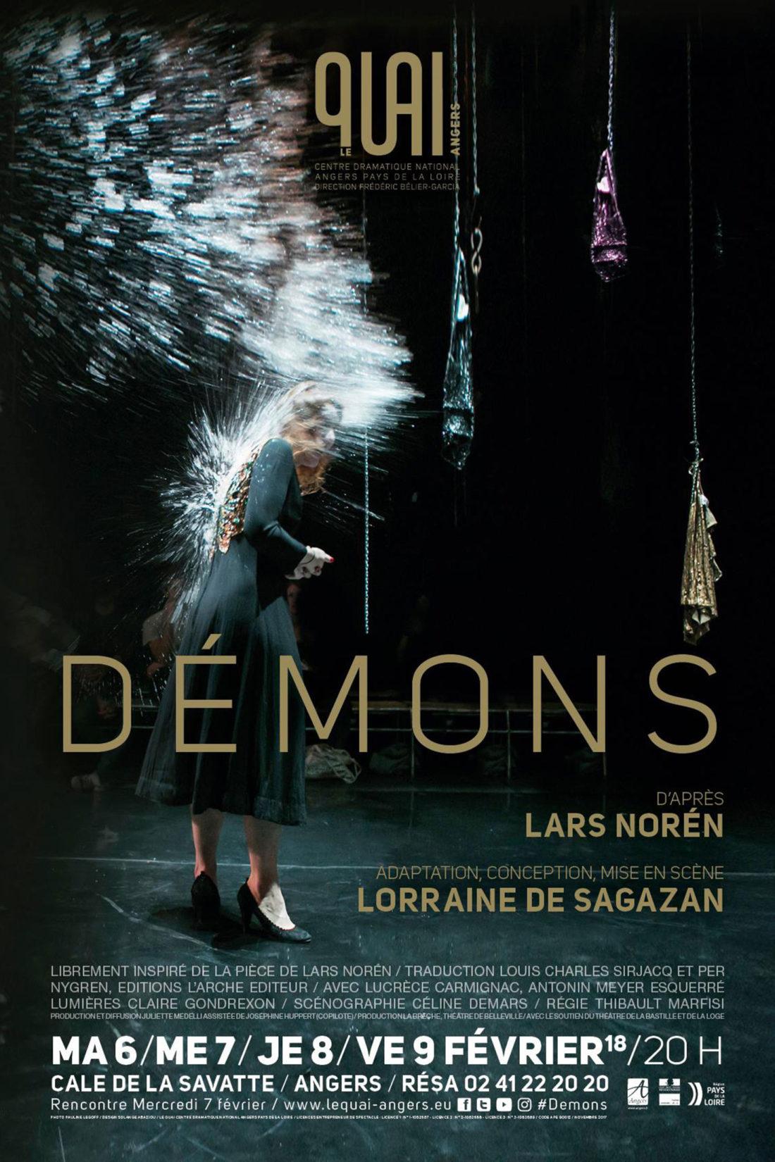 Démons Lars Norén Lorraine de Sagazan Pauline Le Goff