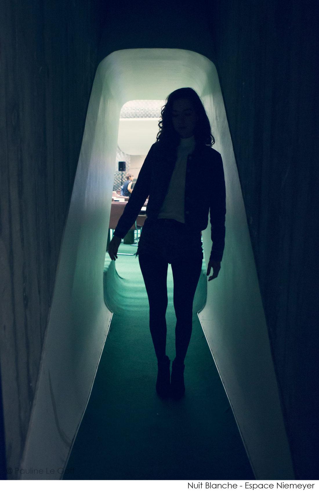 Cléa Vincent - Espace Niemeyer © Pauline Le Goff