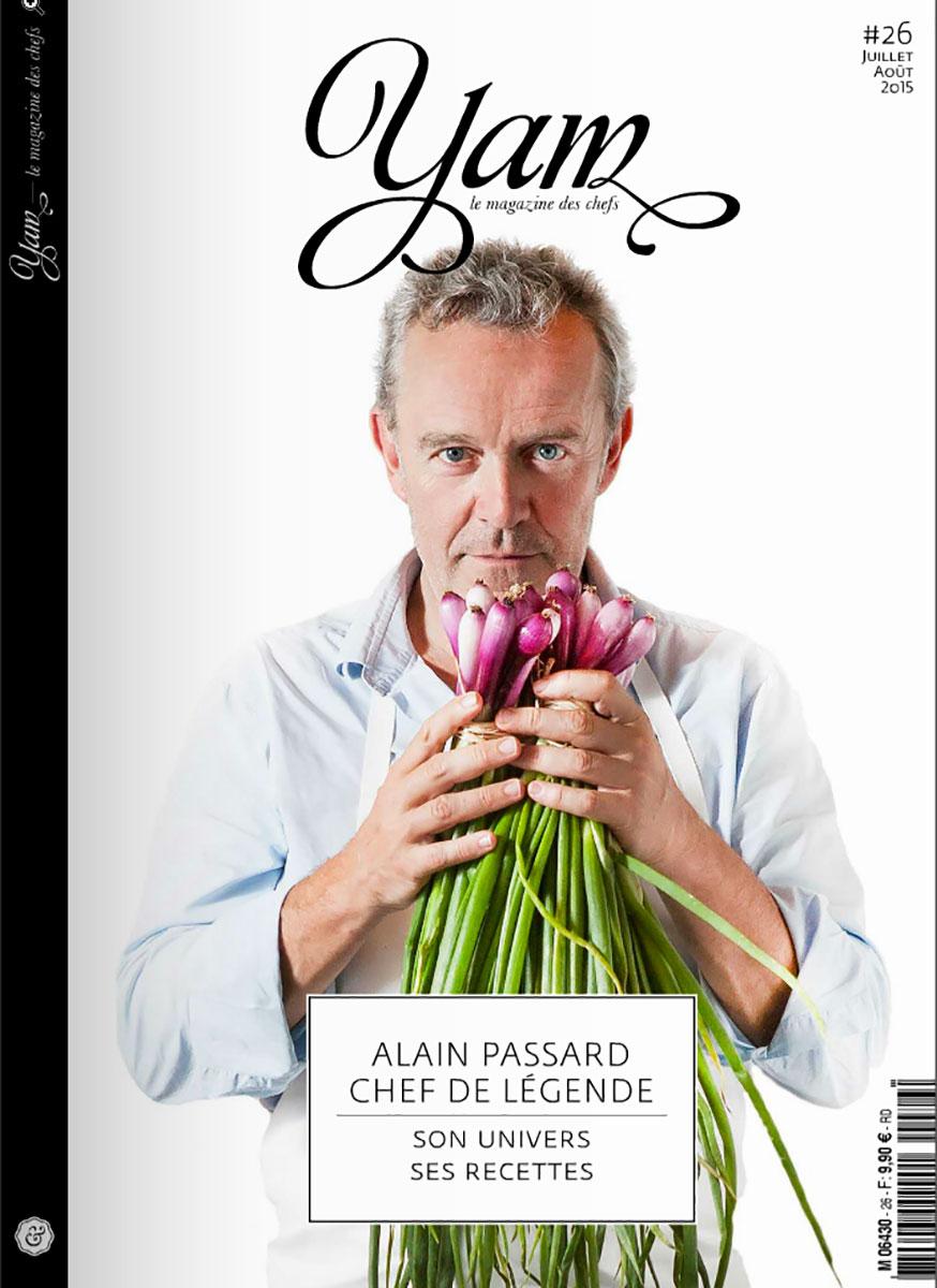 portrait Alain Passard magazine Yam
