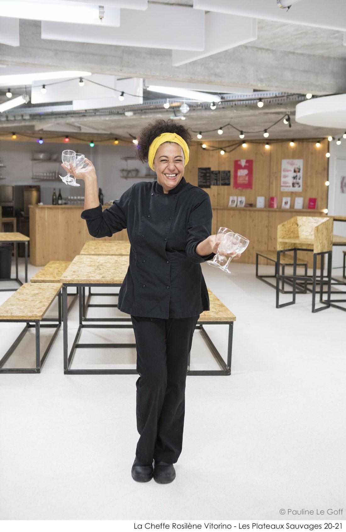 Rosilène Vitorino - Cheffe - Les Plateaux Sauvages