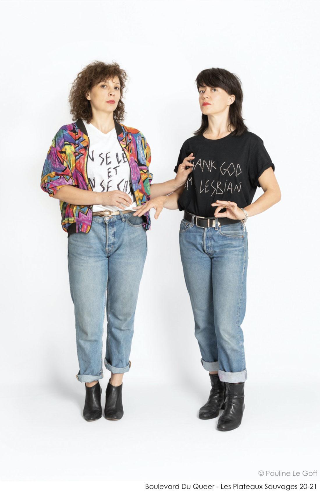 Boulevard Du Queer - Mélanie Martinez et Claire Mazerat - Les Plateaux Sauvages 20-21